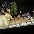 """DiedHoff Indianer Diorama """"Lager Überfall"""" (7cm, 1:25) passend zu Elastolin. Alle 29 Figuren sind Umbauten (Einzelstücke), in einer wunderschönen DiedHoff (Billy20) – Bemalung. Maße LxBxH: 100cm X 50cm X 49cm […]"""