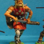 Elastolin Wikinger 8500 Schwert ziehend in DiedHoff Bemlaung