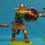 Elastolin Wikinger mit Schwert 8504 in DiedHoff Bemalung